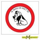 Verboden-voor-Honden-Stickers